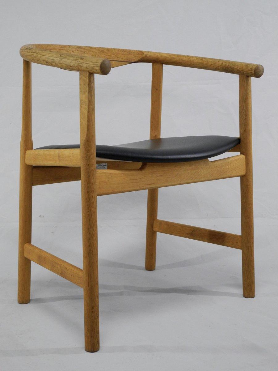 jh 203 st hle von hans j wegner f r johannes hansen m belsnedkeri 1975 4er set bei pamono kaufen. Black Bedroom Furniture Sets. Home Design Ideas