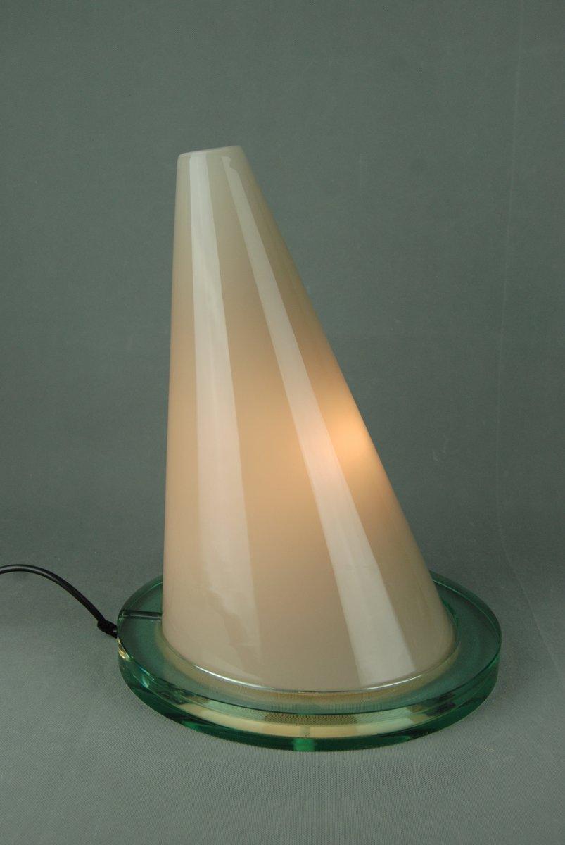 Lampada da tavolo oz moderna in vetro di daniela puppa franco raggi per fontana arte italia - Lampada da tavolo moderna ...