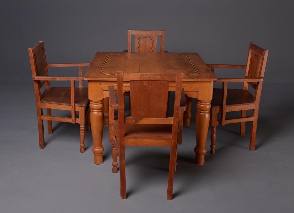 solid wood dining set faiworld