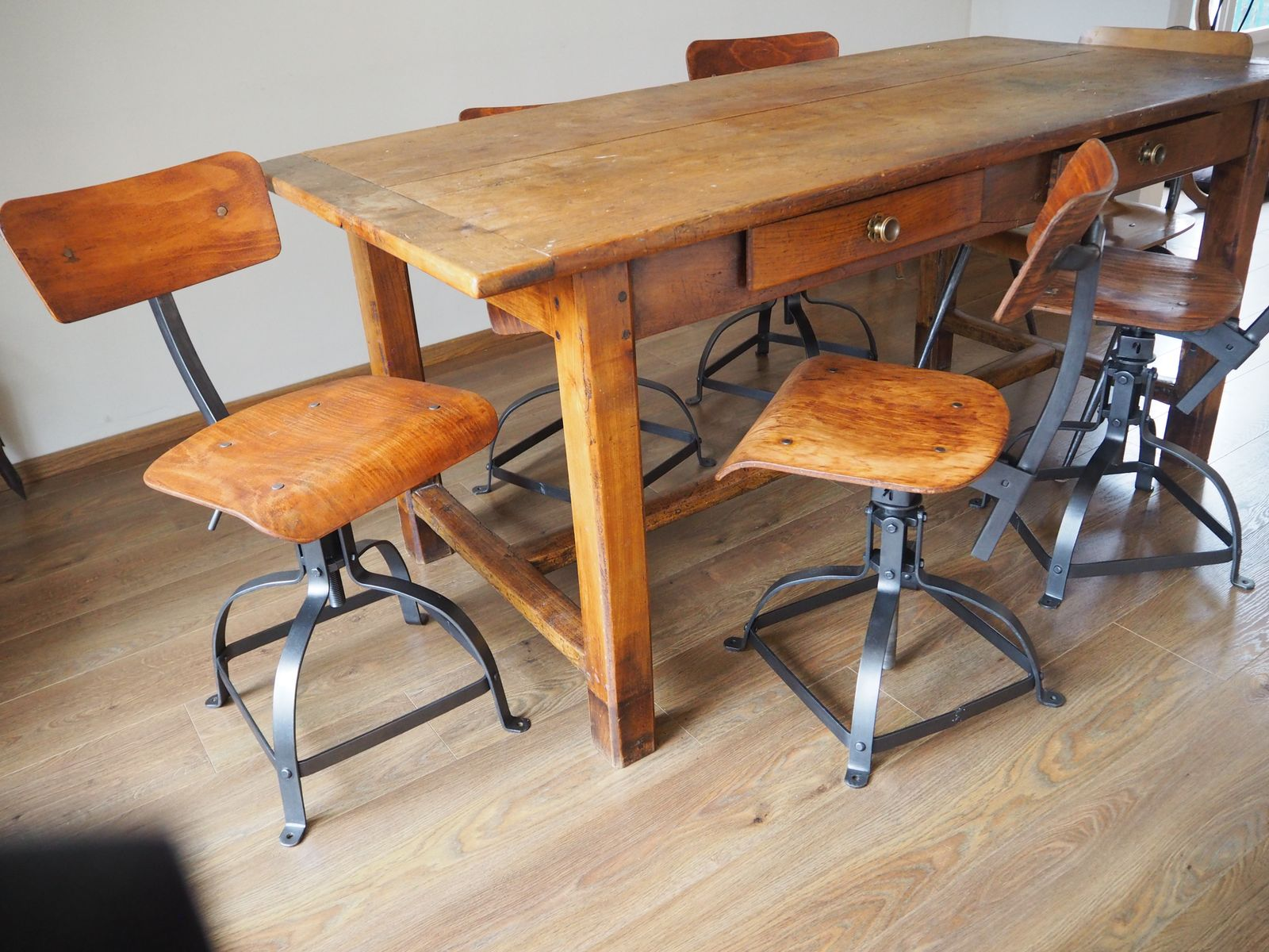 Industrial Workshop Chair from Bienaise 1950 for sale at Pamono