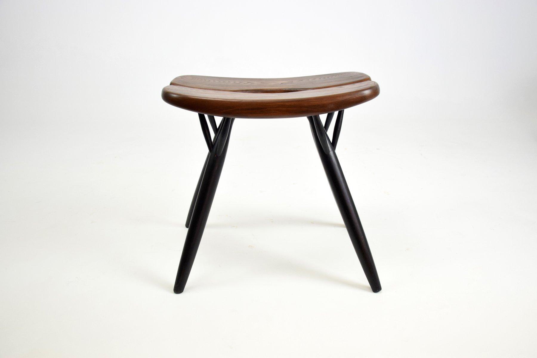 Pirkka Chairs & Stool by Ilmari Tapiovaara for Laukaan Puu 1955