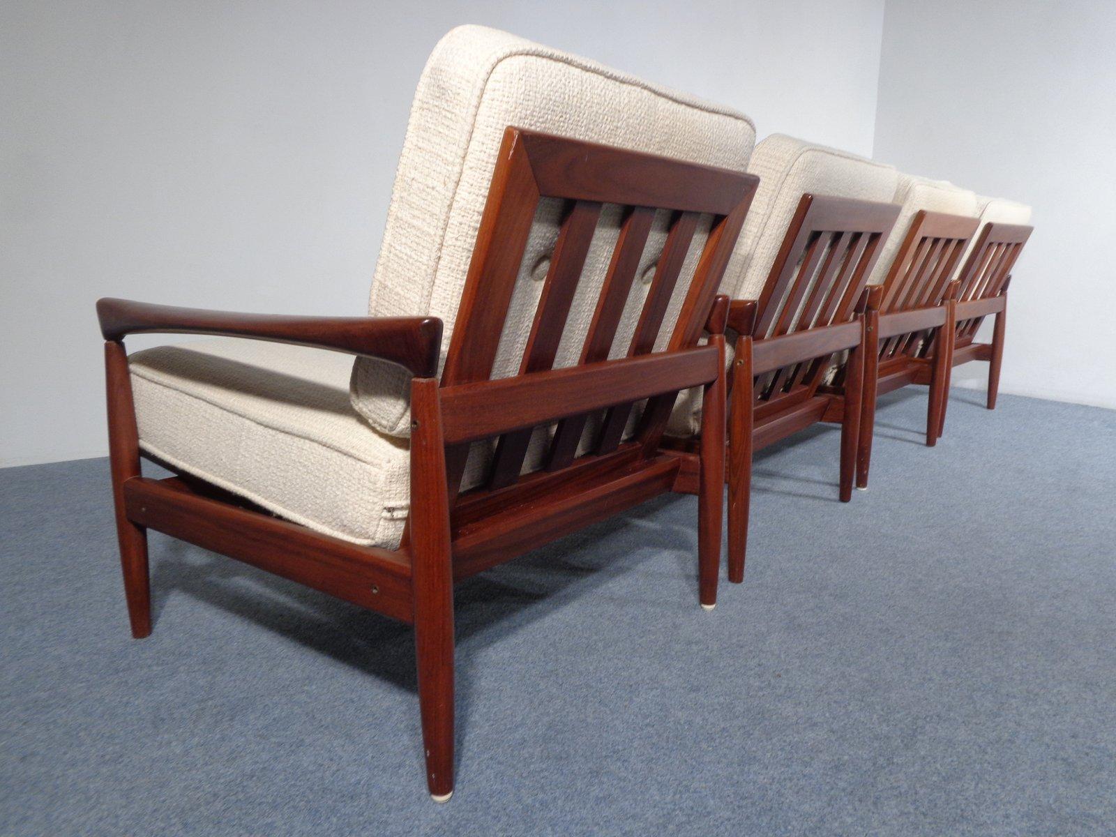 schwedischer teakholz lounge stuhl von erik w rtz f r br derna andersson 1960er bei pamono kaufen. Black Bedroom Furniture Sets. Home Design Ideas