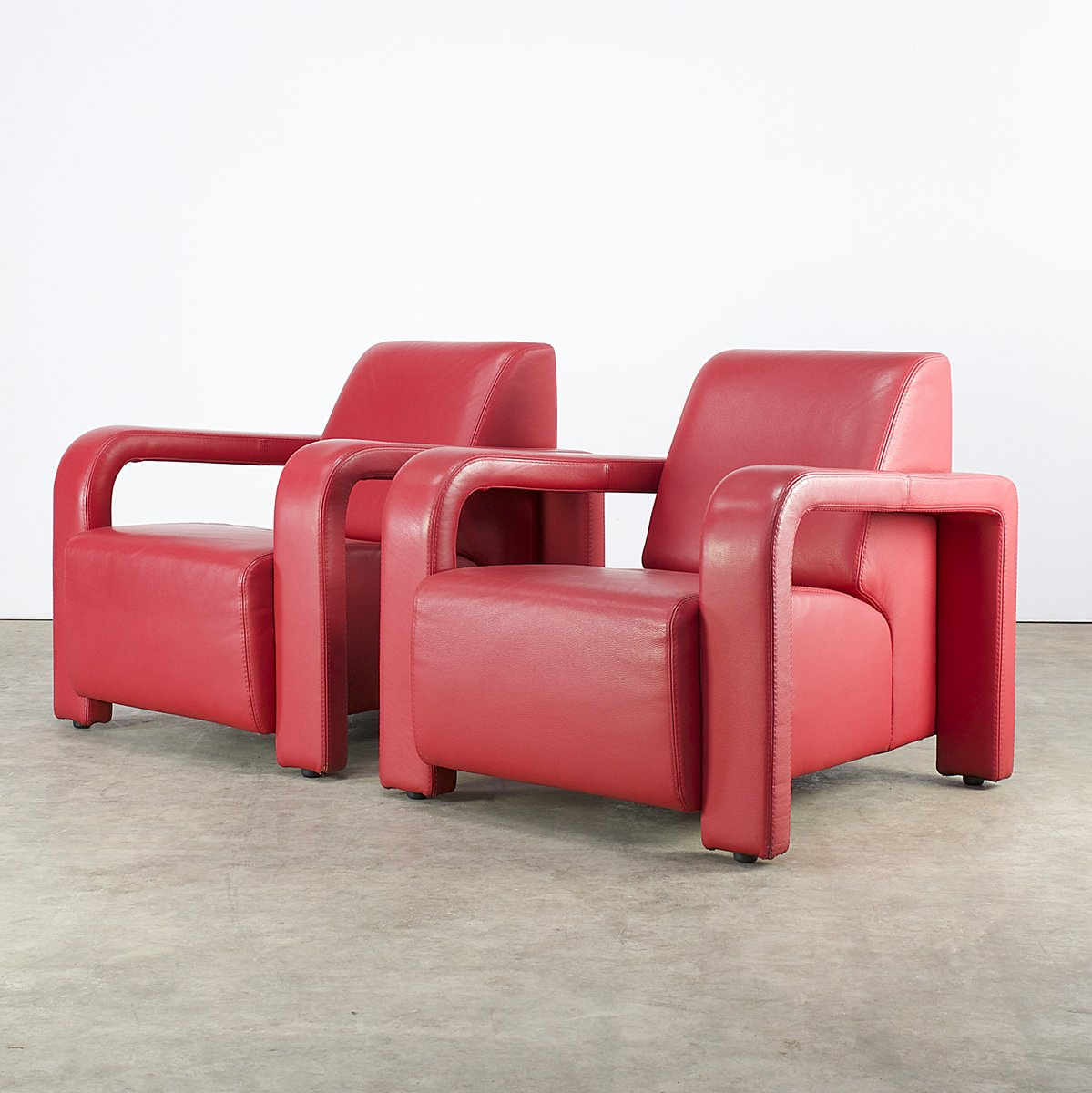 Comfortable lounge chairs from marinelli italy 1980s set for Comfortable chairs for sale