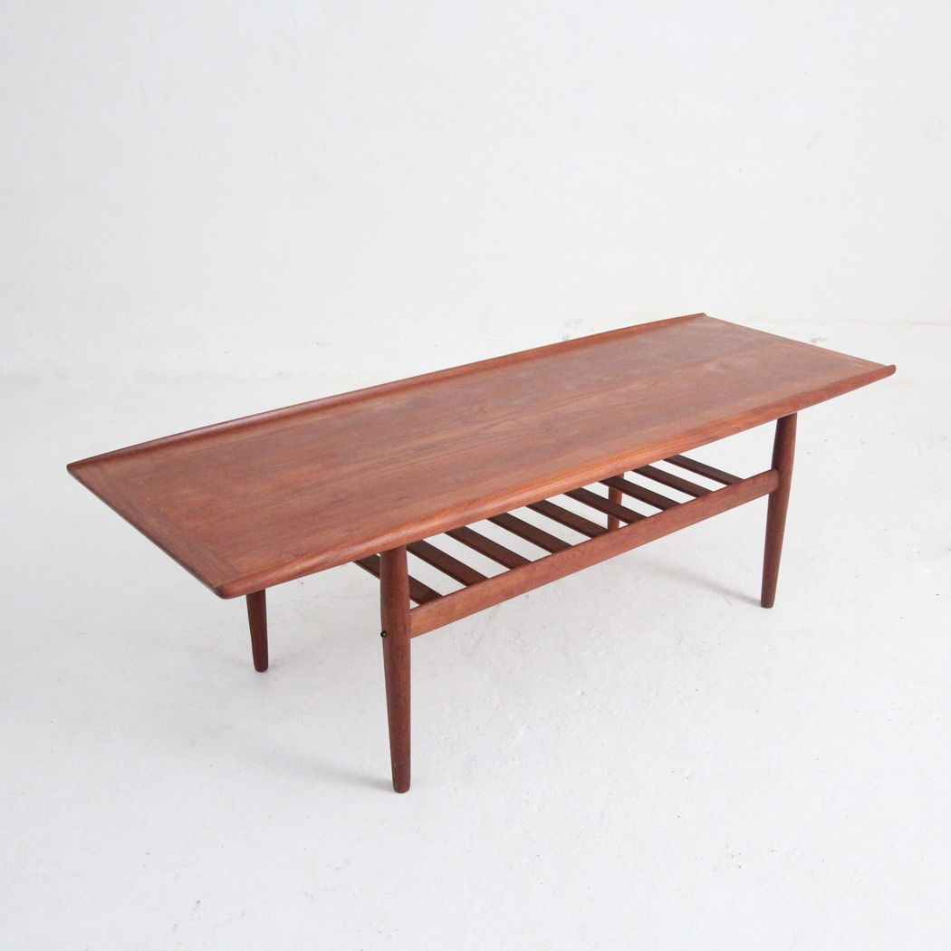 Mid Century Coffee Table By Grete Jalk For Glostrup For Sale At Pamono