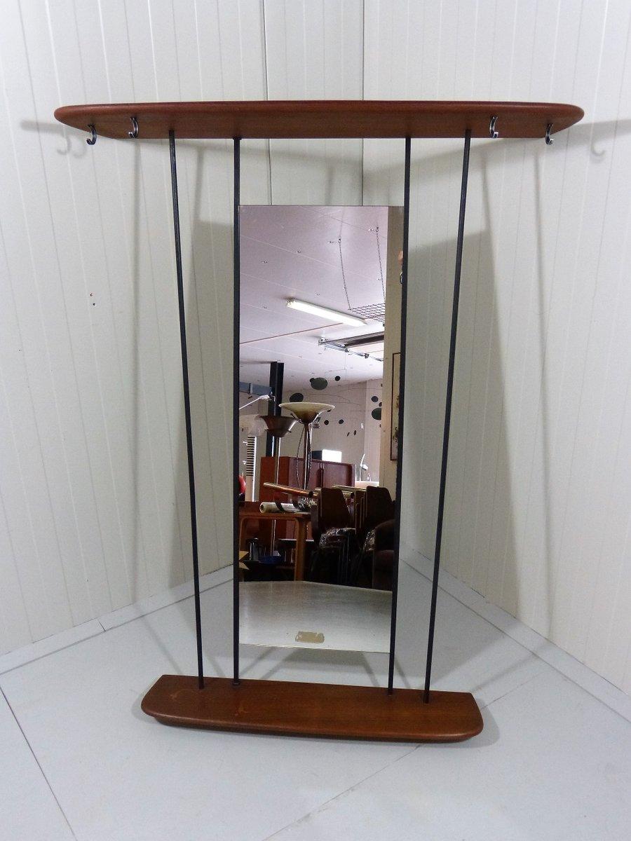 Attaccapanni in teak con specchio anni 39 50 in vendita su - Specchio anni 50 ...