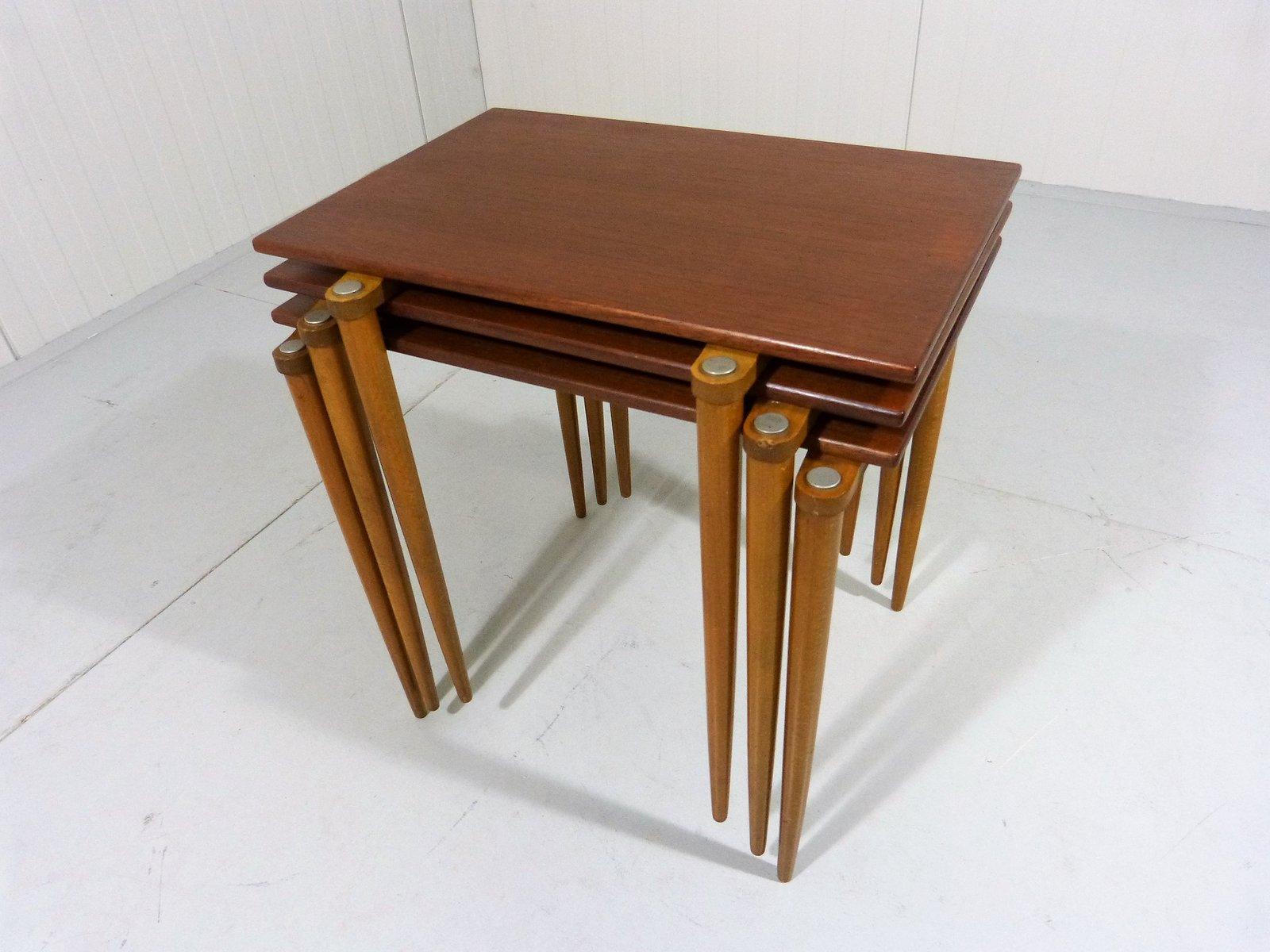 satztische von opal 1950er bei pamono kaufen. Black Bedroom Furniture Sets. Home Design Ideas