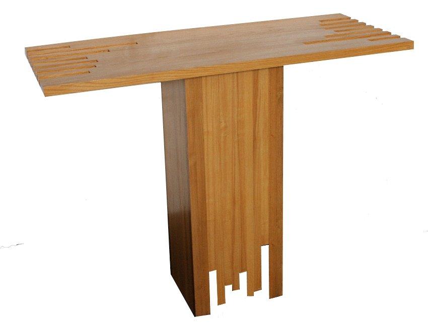 moderner italienischer konsolentisch aus holz von poltronova bei pamono kaufen. Black Bedroom Furniture Sets. Home Design Ideas