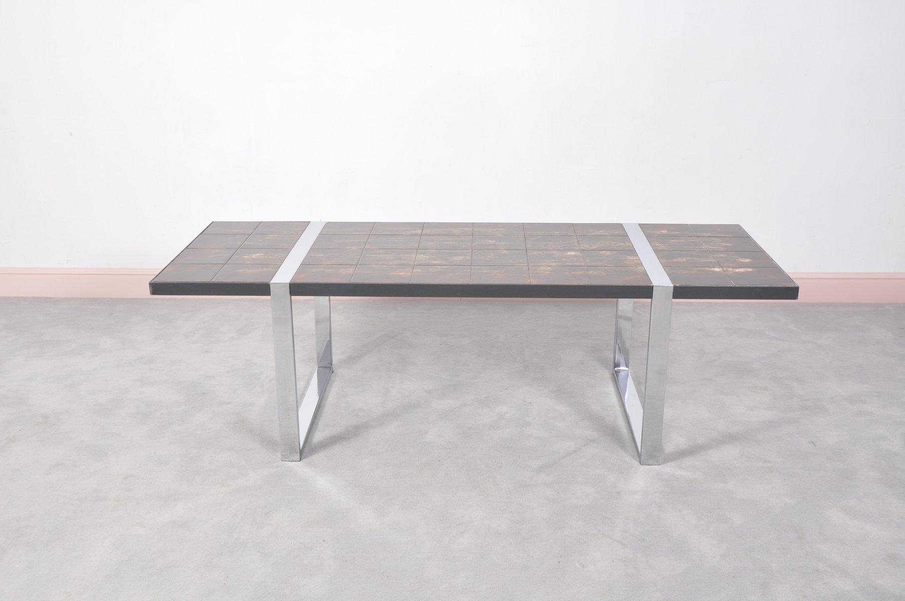 Table Basse Avec Plateau En C Ramique Par Julien Belarti