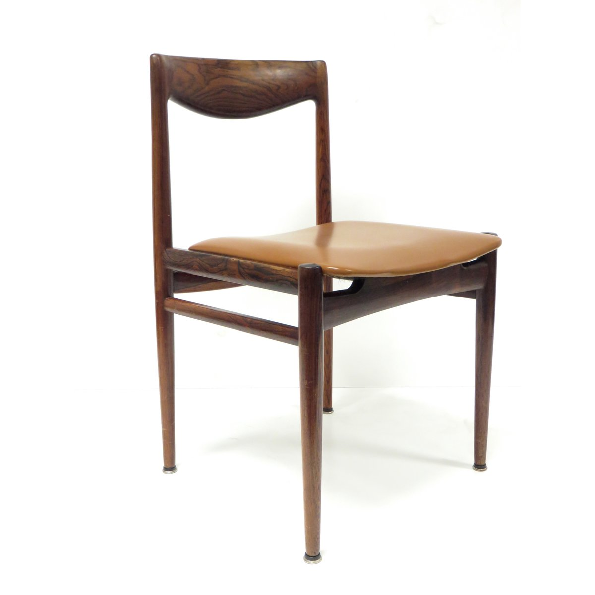Mid Century Rosewood Chairs Set Of 4 For Sale At Pamono