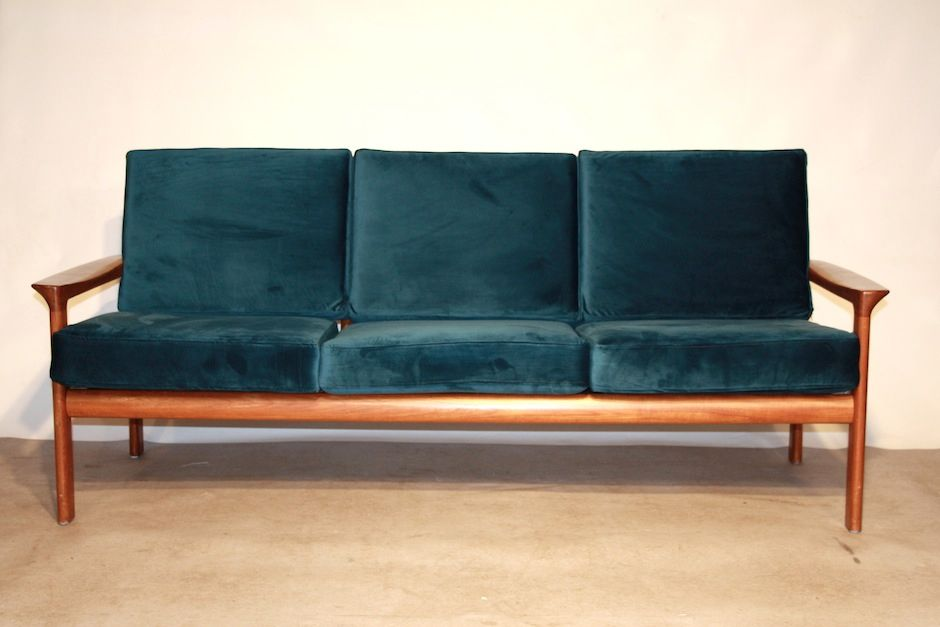 Sofa By Sven Ellekaer For Komfort Borneo 1960s For Sale At Pamono