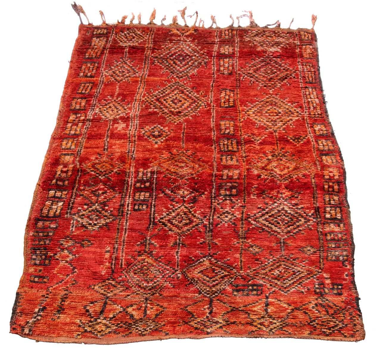 Vintage Moroccan Boujad Carpet, 1970s For Sale At Pamono