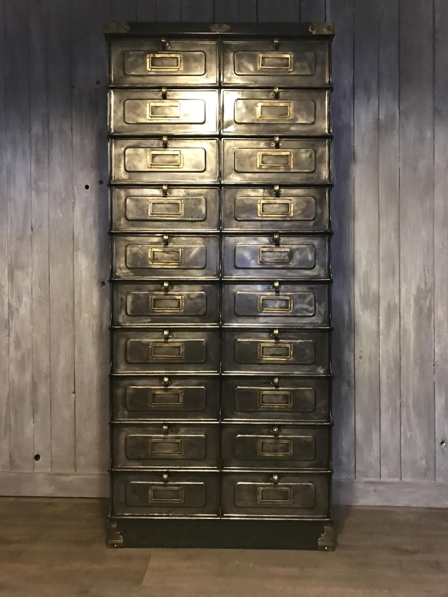 Industrial 20 valve drawers cabinet by strafor for sale at for Kitchen drawers for sale