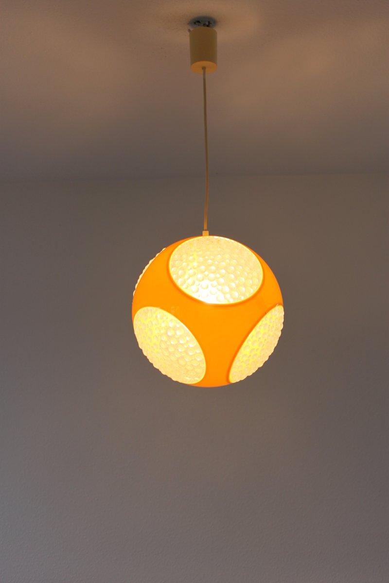 yellow ufo pendant lamp by luigi colani 1970s for sale at pamono. Black Bedroom Furniture Sets. Home Design Ideas