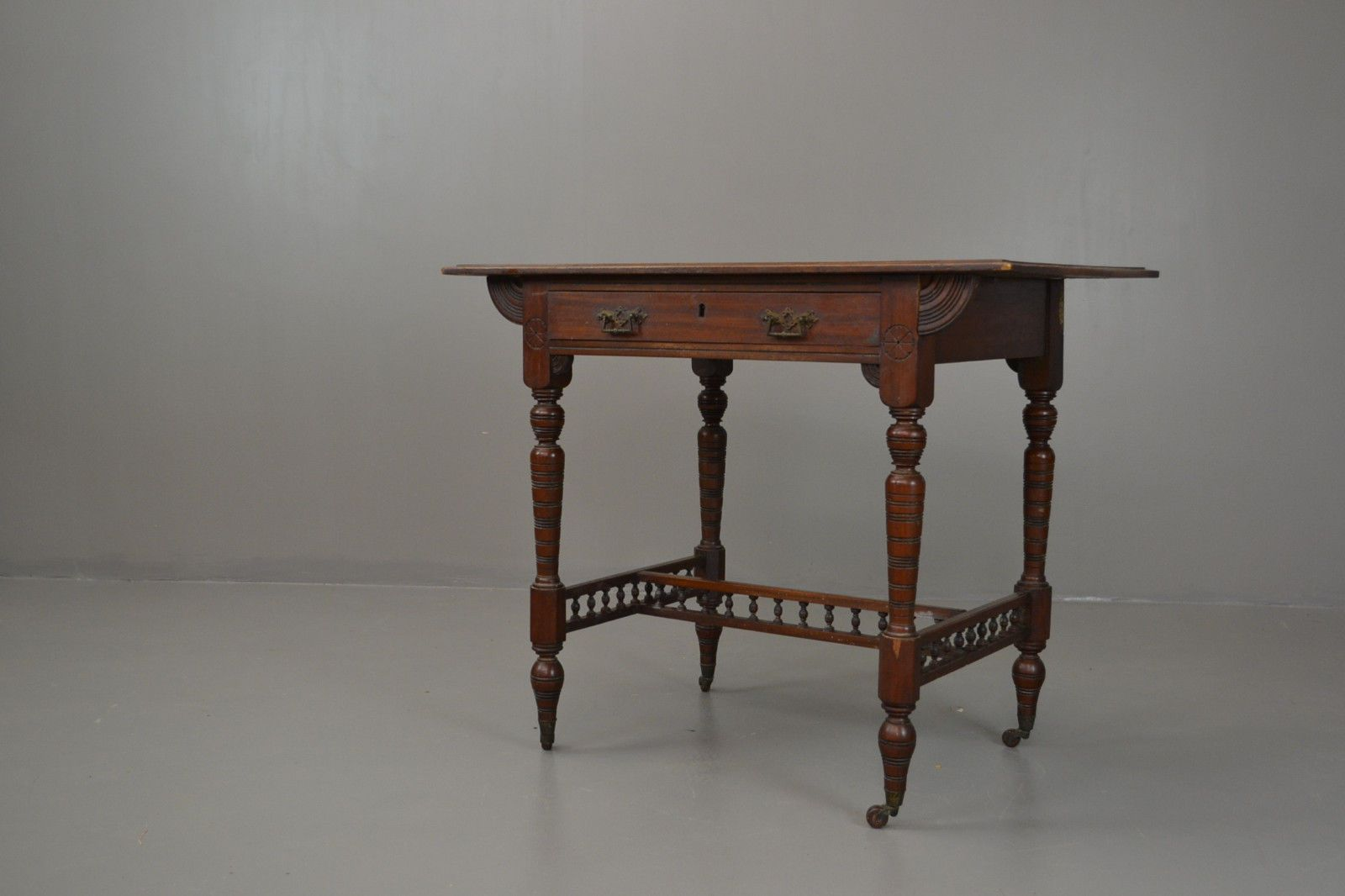 Awesome Victorian Walnut Side Table