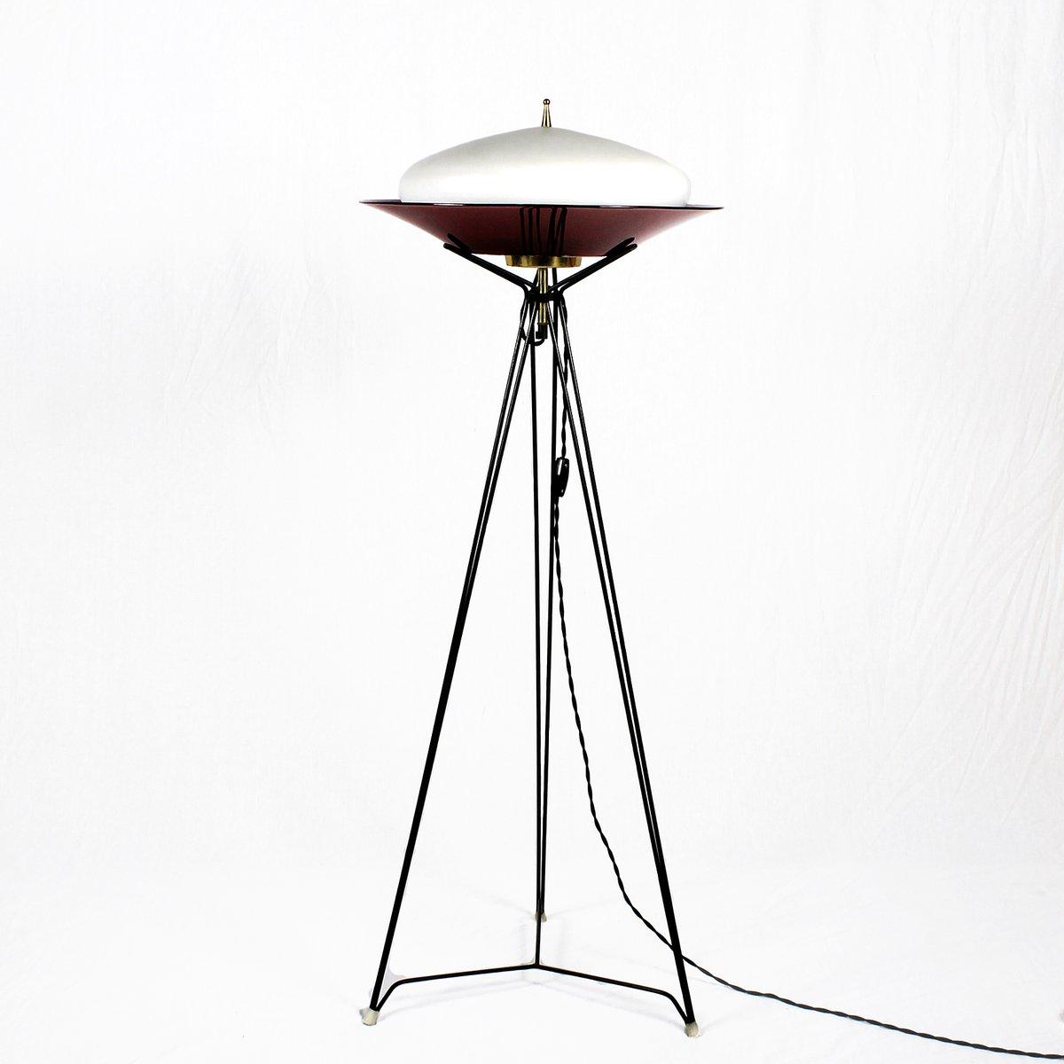 Italian Tripod Floor Lamp 1960s For Sale At Pamono