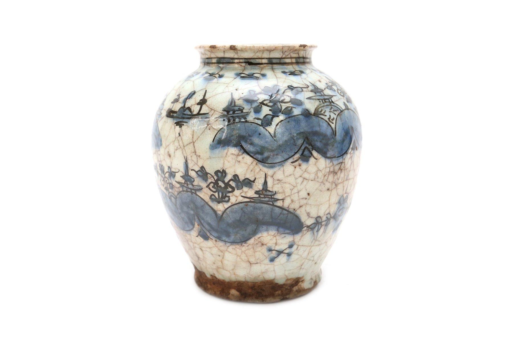 antike keramik vasen im persischen stil 2er set bei. Black Bedroom Furniture Sets. Home Design Ideas