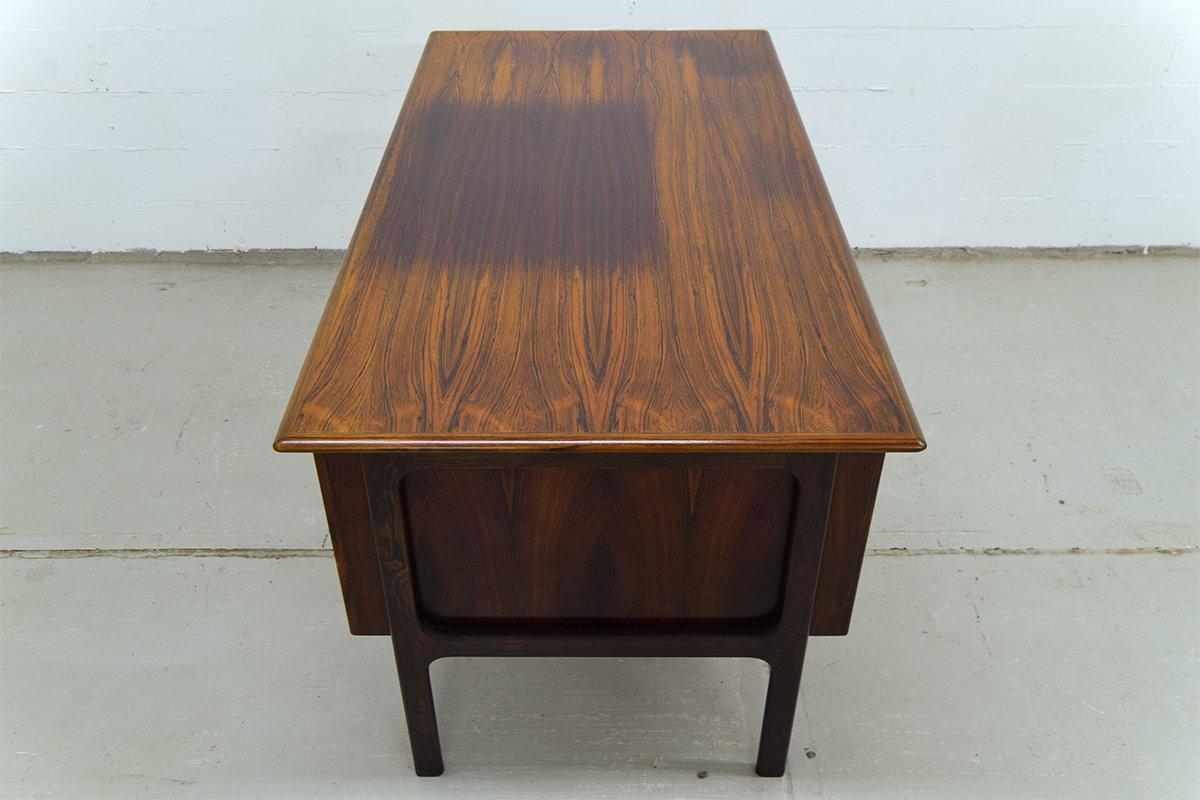 palisander schreibtisch von arne vodder f r sibast bei. Black Bedroom Furniture Sets. Home Design Ideas
