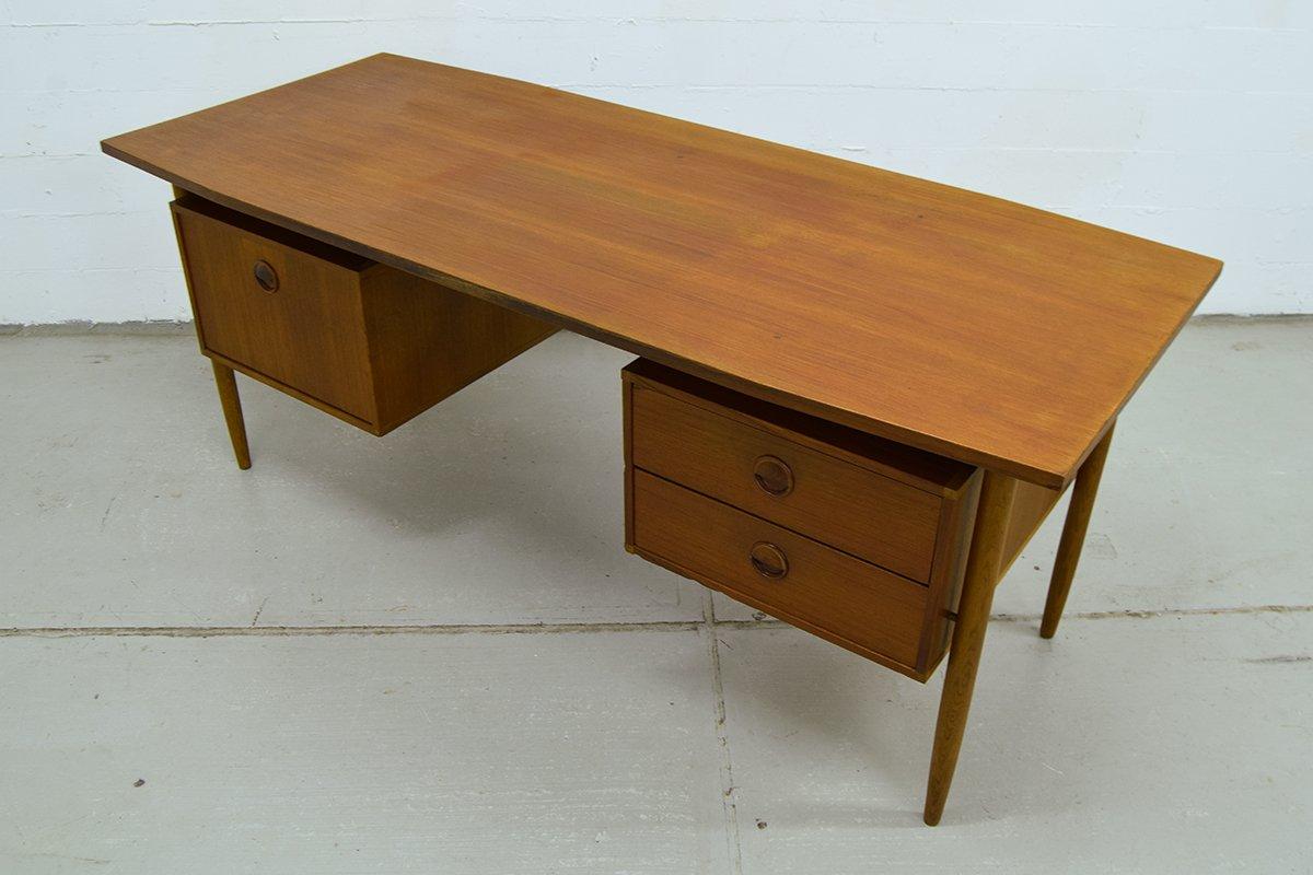 teak schreibtisch von william watting f r modernord bei. Black Bedroom Furniture Sets. Home Design Ideas