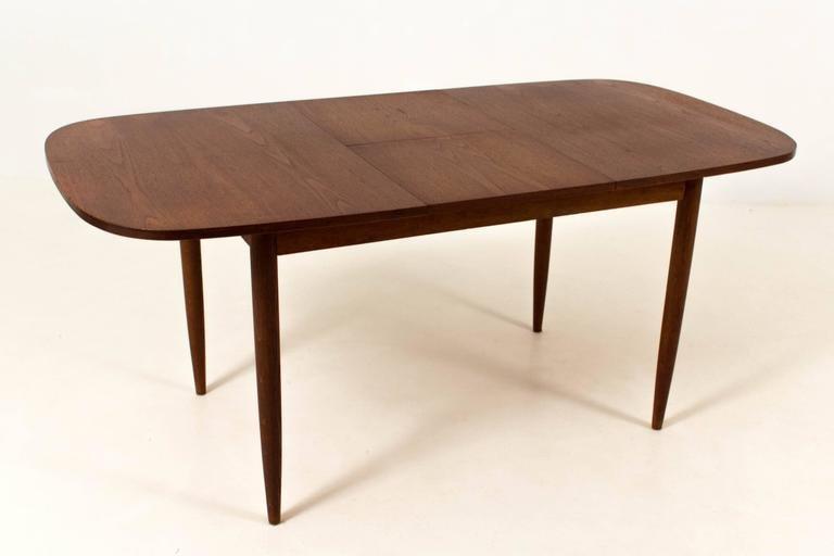 mid-century modern dining room setarne hovmand-olsen for