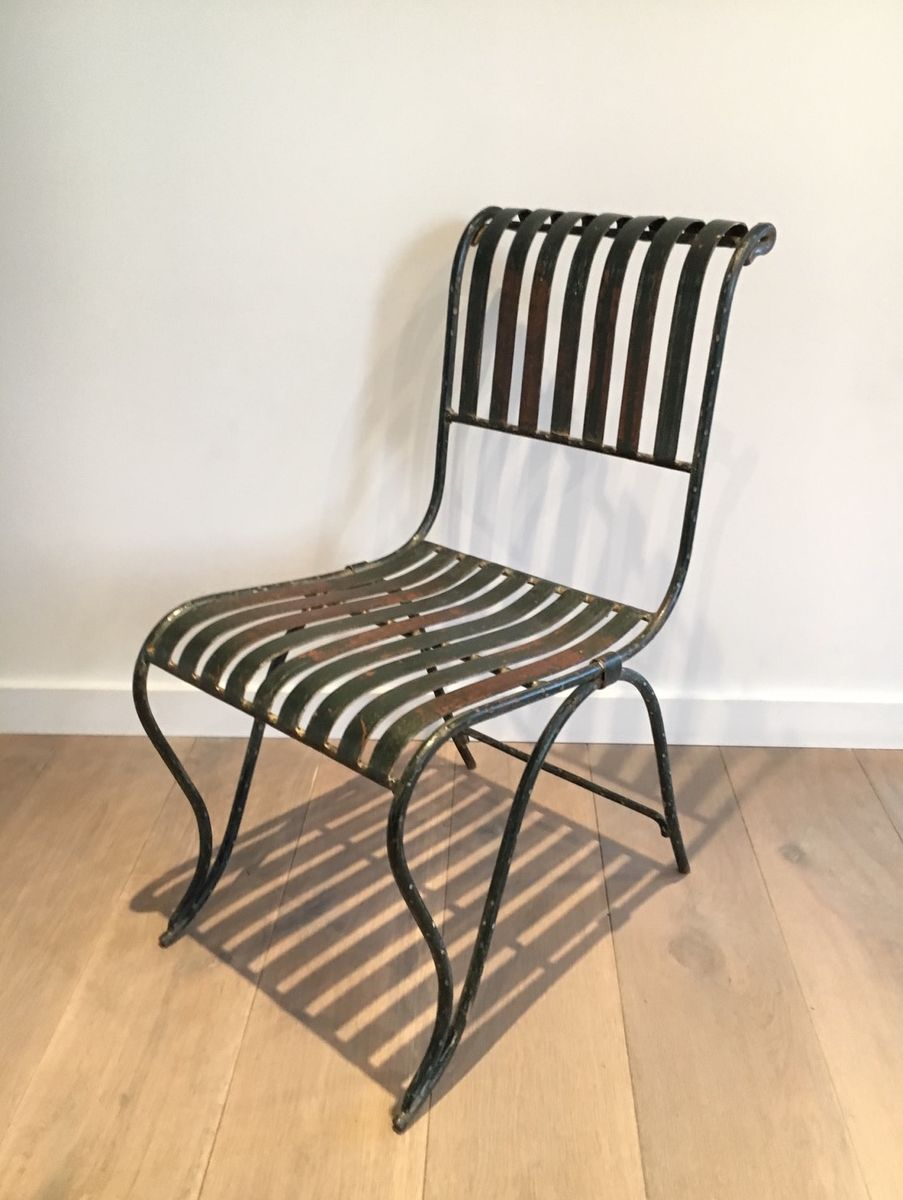 Antique wrought iron chairs antique furniture for Iron furniture