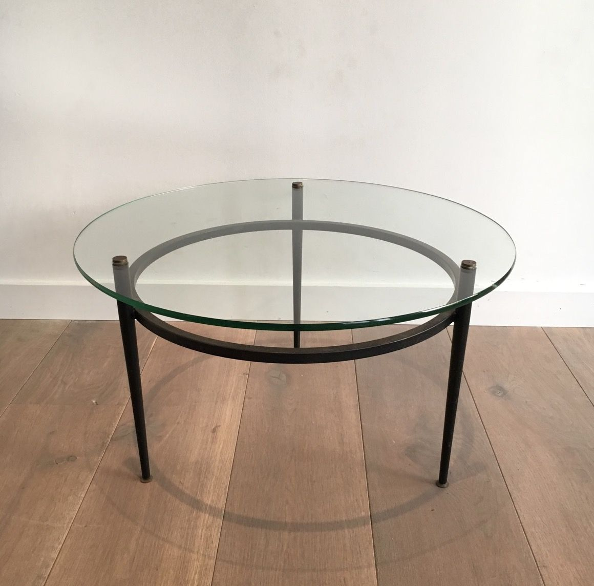 Vintage Small Round Glass Coffee Table 10 1 059 00 Price Per Piece