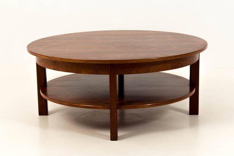 Large mid century modern coffee table 1970s for sale at for Large contemporary coffee tables