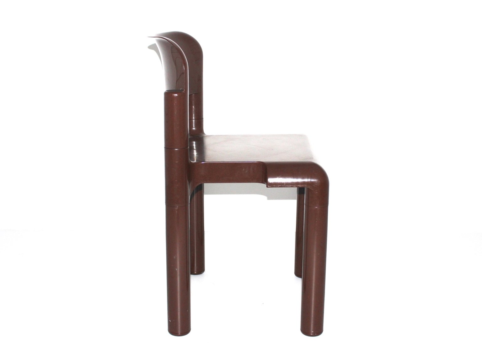 Brown Plastic Chair By Eerio Aarnio For Upo Furniture 1970s For Sale At Pamono