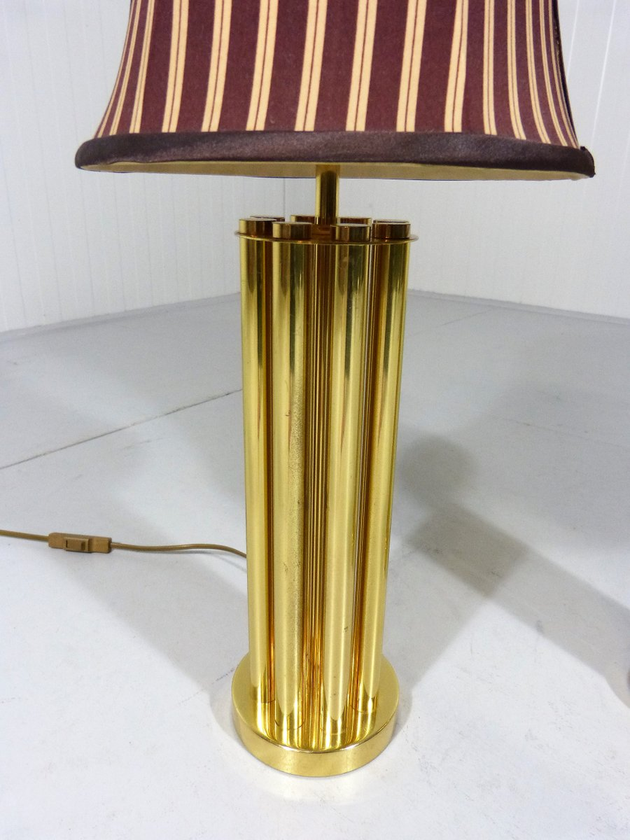 Vintage Brass Table Lamps Set Of 2 For Sale At Pamono