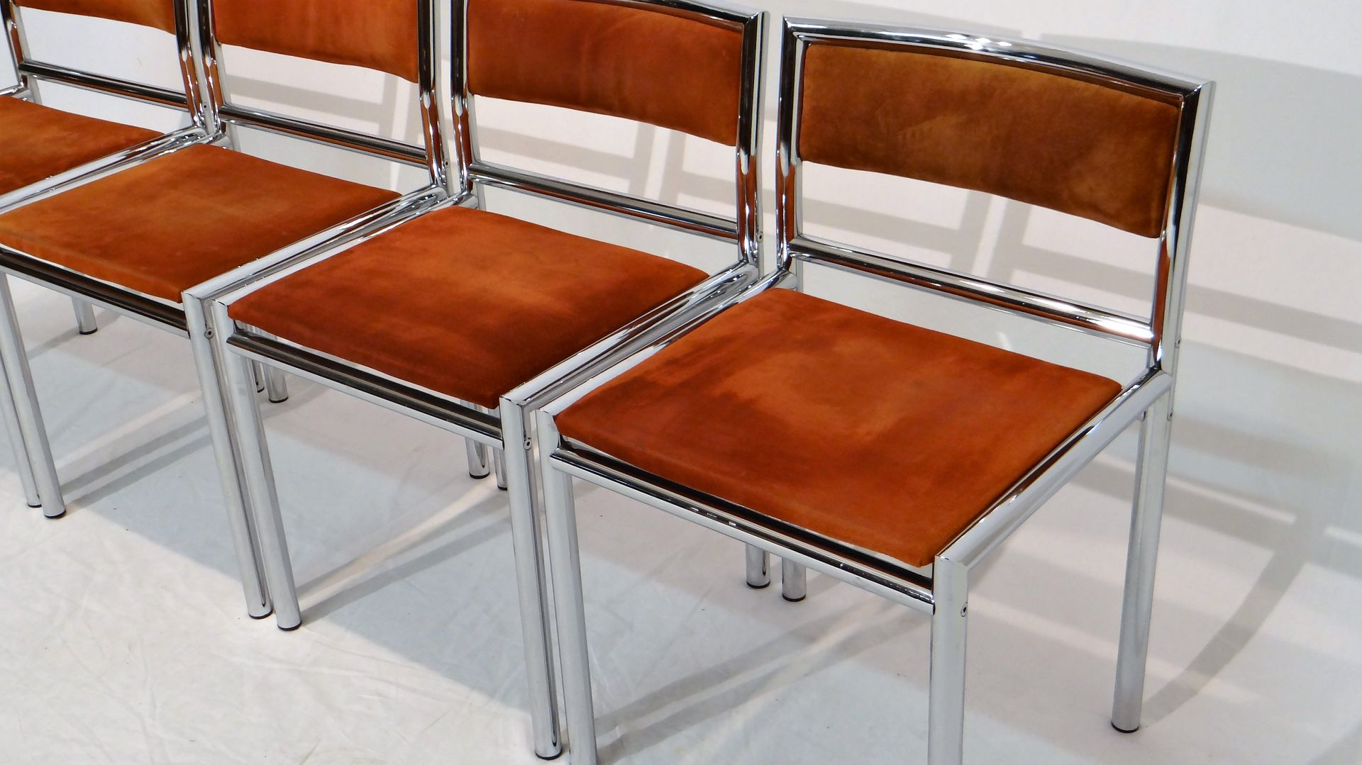 new chrome dining chairs
