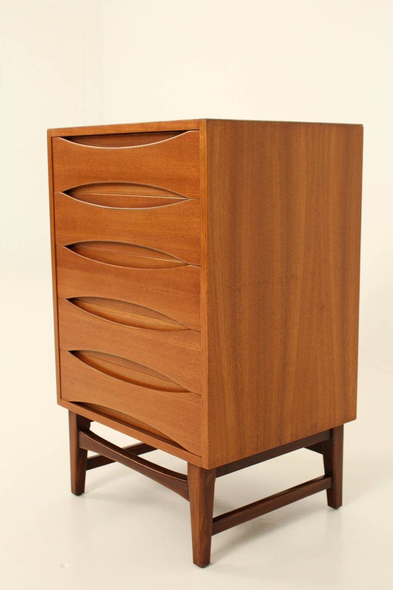 mid century cabinet mid century modern cabinet in teak amp rosewood for at 23319