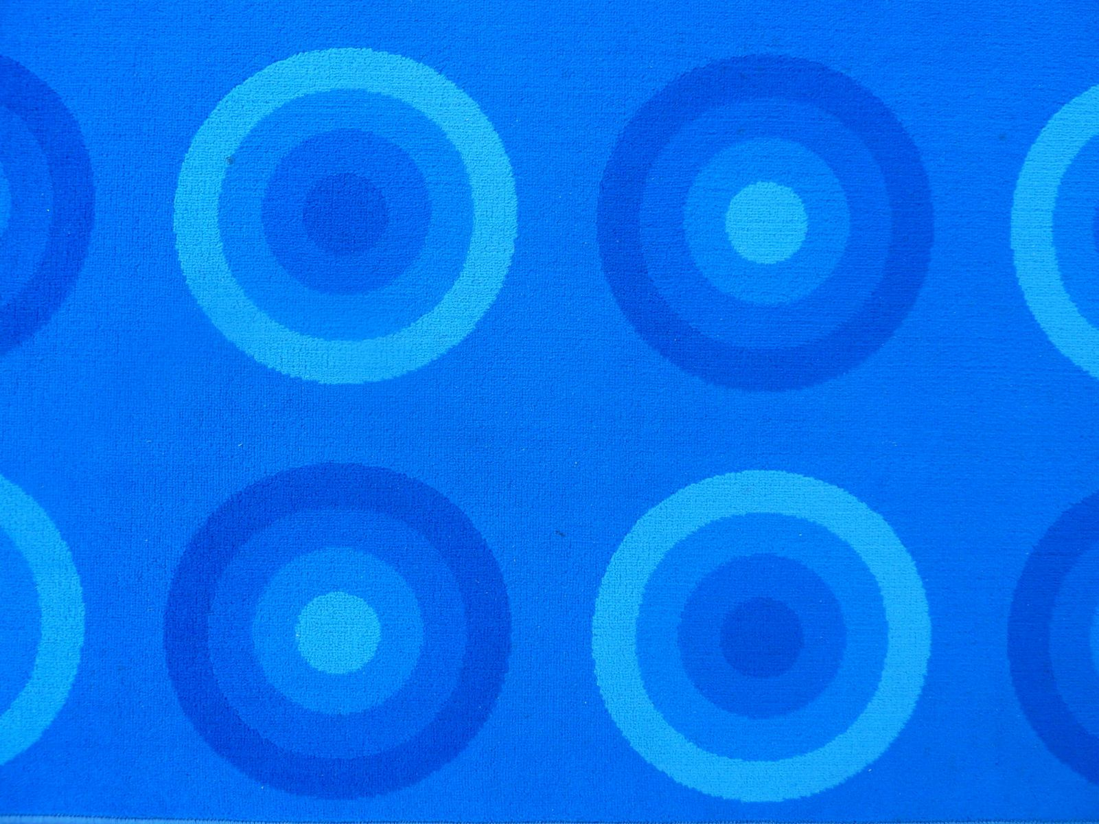 blue vintage rug by verner panton for mirax for sale at pamono - price per piece