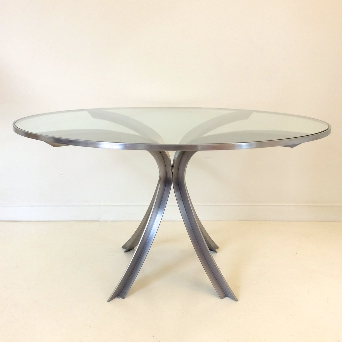 Table ronde en verre for Table ronde verre fly