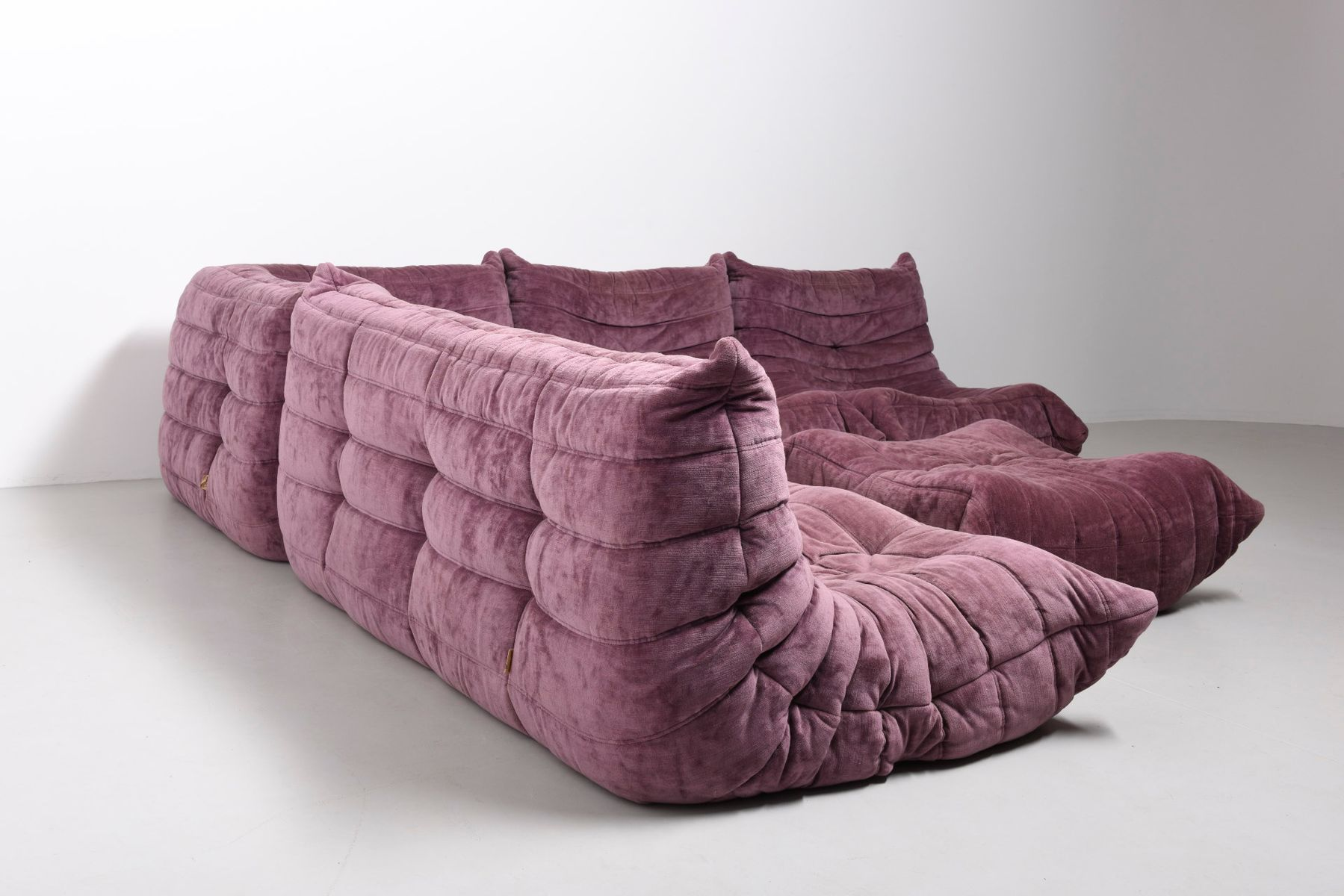 Pink Living Room Set Pink Living Room Sofa Set By Michel Ducaroy For Ligne Roset 1973