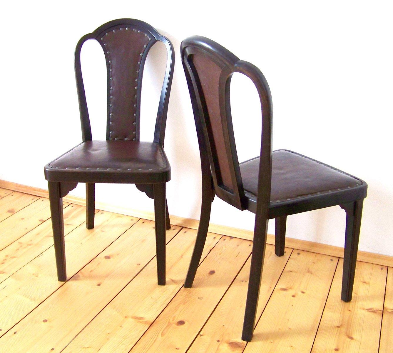 Chaises de salle manger mod le nr 918 par gustav siegel for Modele chaise salle a manger