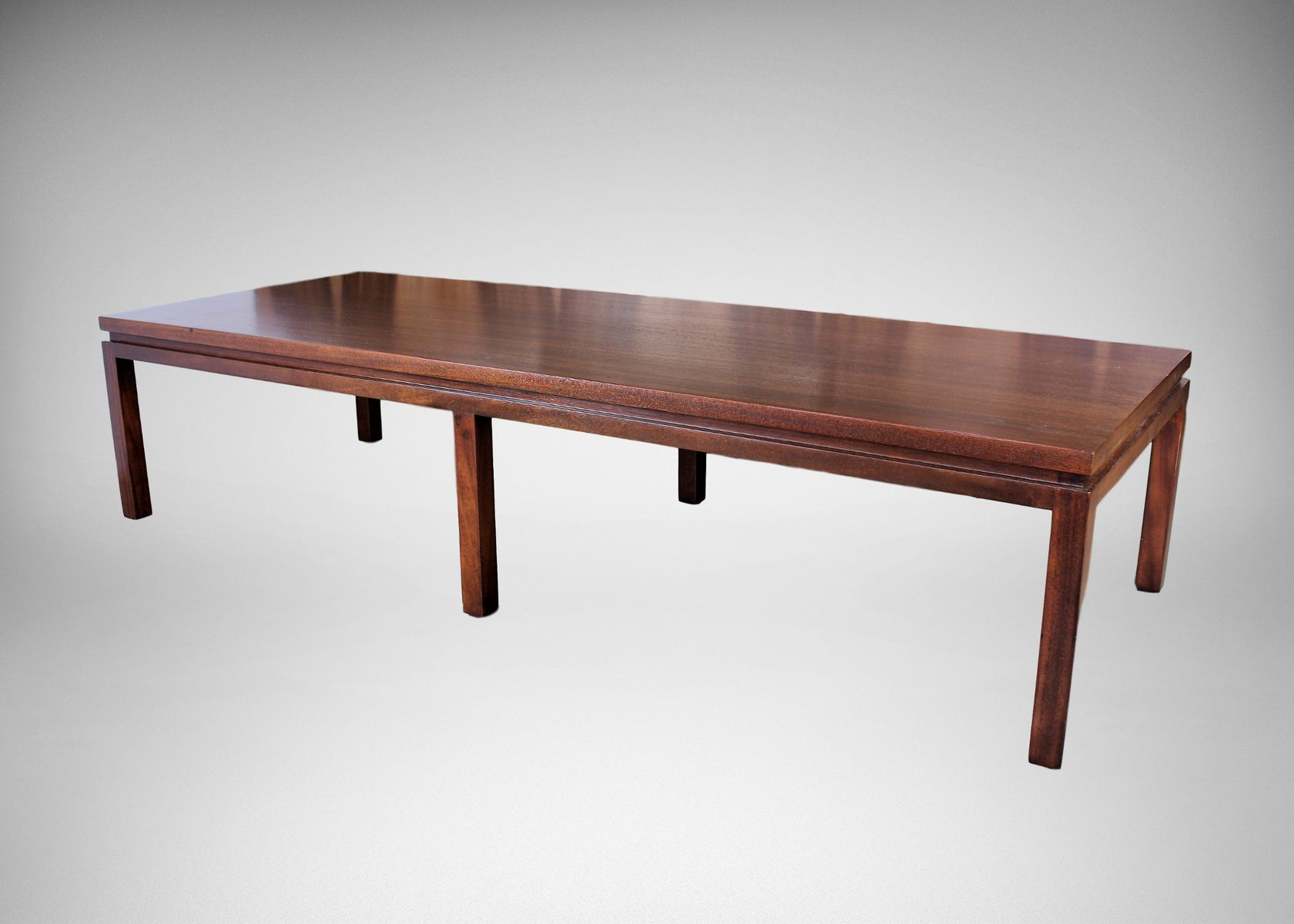 large mahogany coffee tableharvey probber, 1960s for sale at
