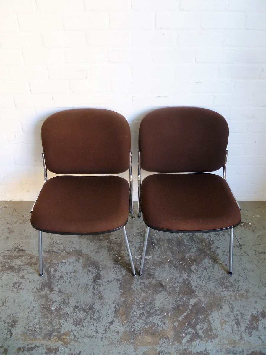 Vintage waiting room chairs 1980s set of 2 for sale at for 1980s chair
