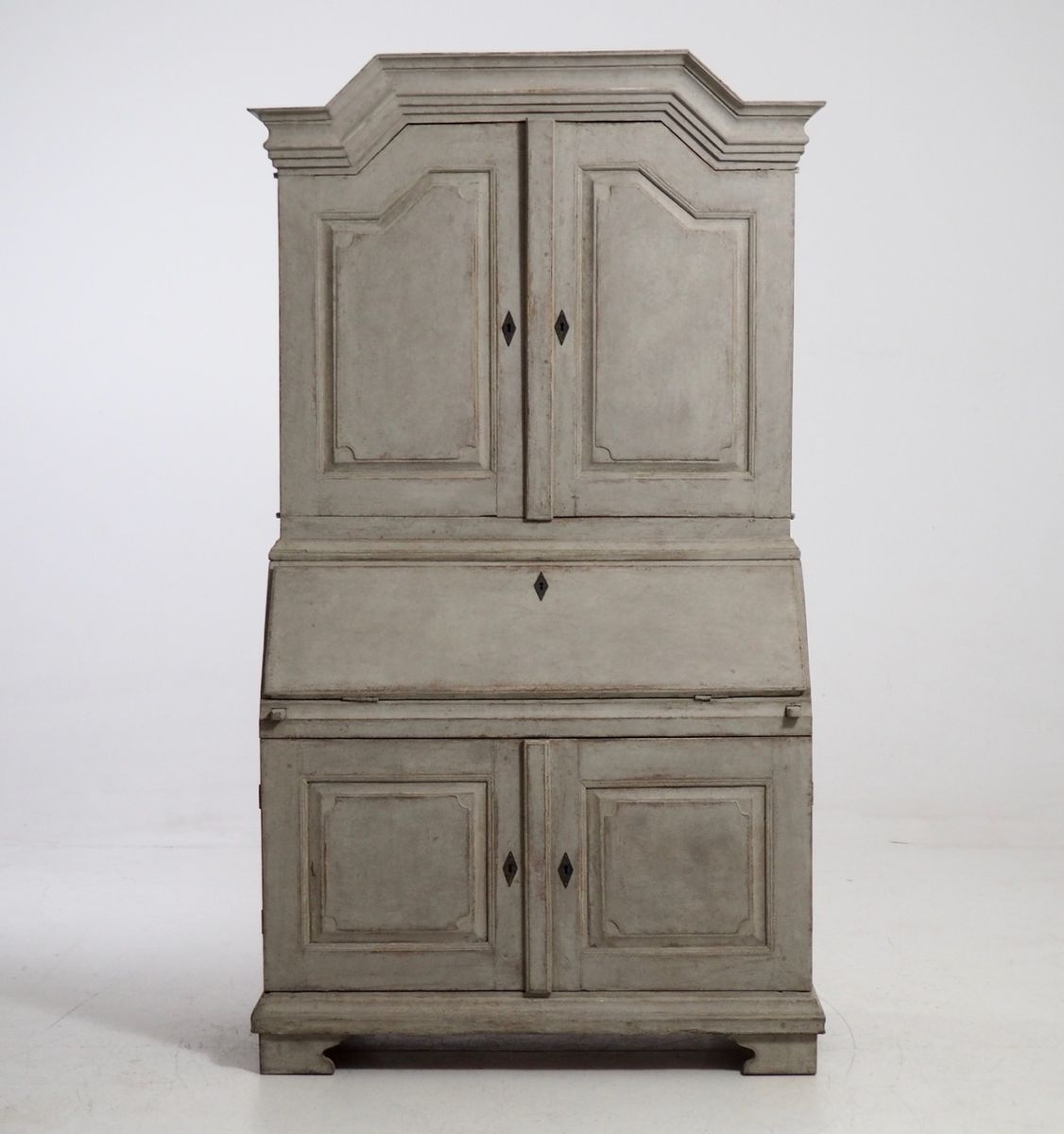 swedish rococco secretaire 1760s for sale at pamono. Black Bedroom Furniture Sets. Home Design Ideas