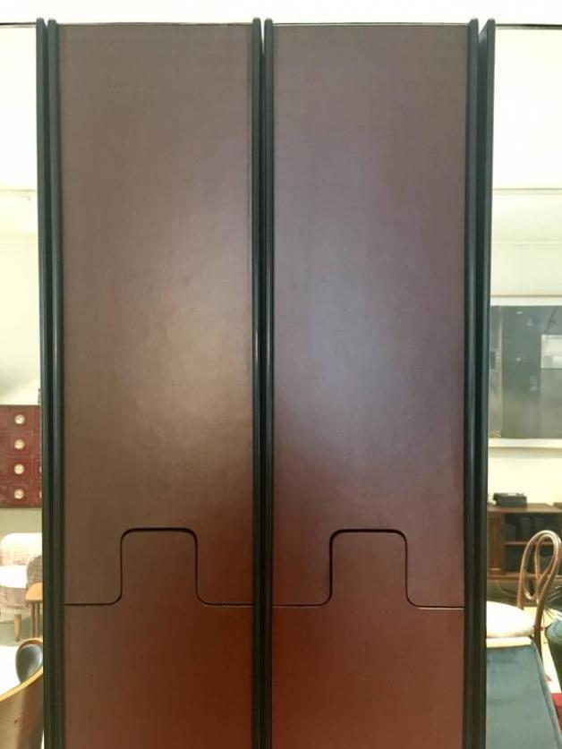 modulare vintage gronda spiegel und garderobe von luciano bertoncini f r elco bei pamono kaufen. Black Bedroom Furniture Sets. Home Design Ideas