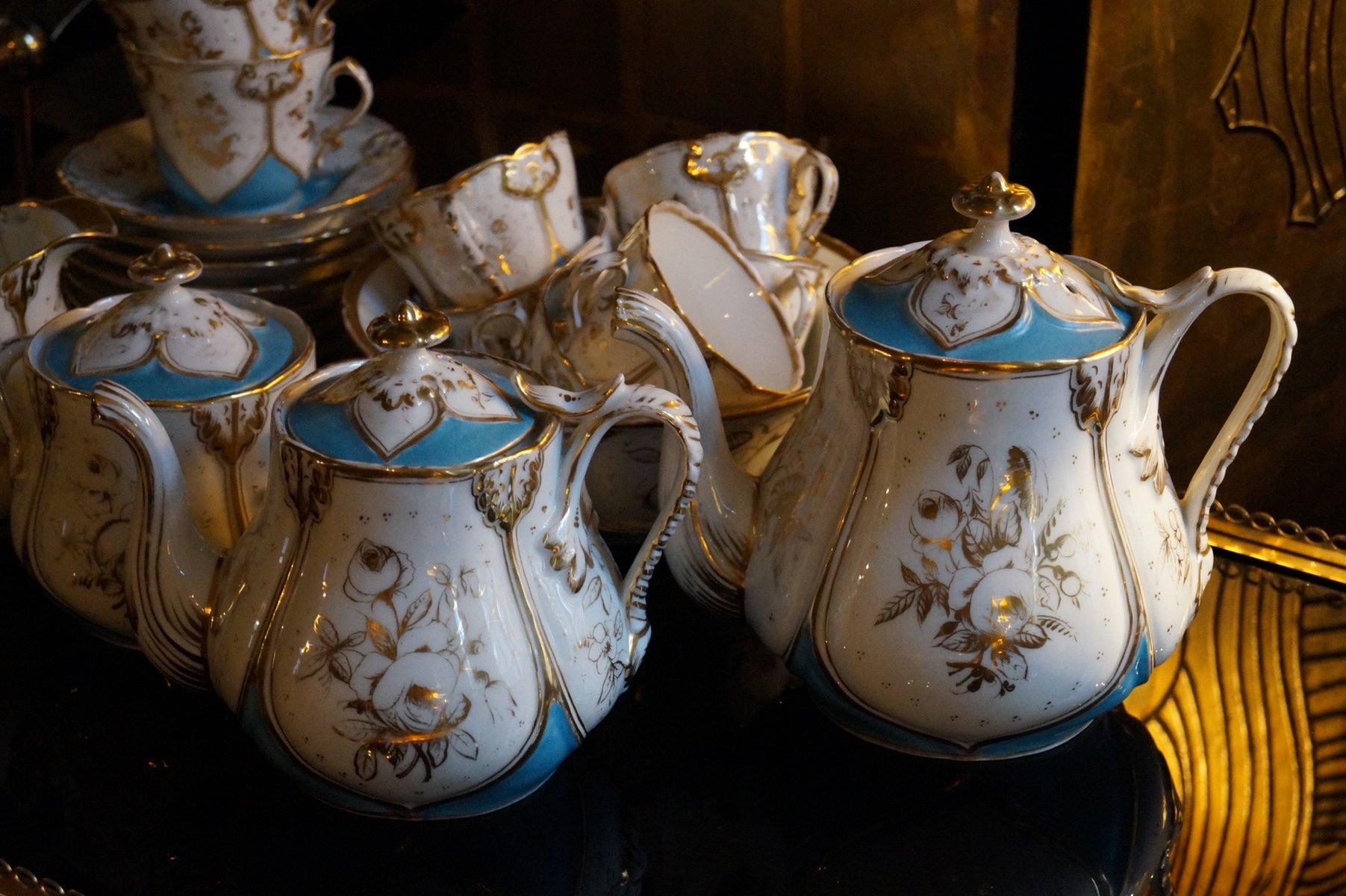 Antikes Porzellan Kaufen : antikes pariser porzellan teeservice 1850 bei pamono kaufen ~ Michelbontemps.com Haus und Dekorationen