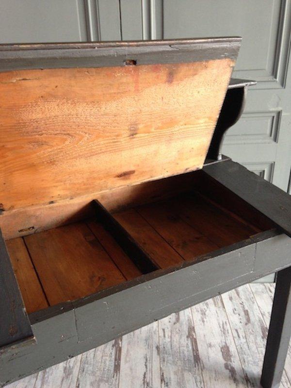 vintage b ro schreibtisch aus kiefer bei pamono kaufen. Black Bedroom Furniture Sets. Home Design Ideas