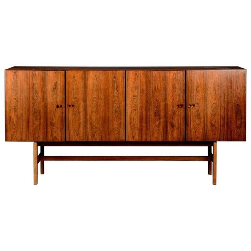 Vintage sideboard by ib kofod larsen for faarup for Sideboard 3 meter lang