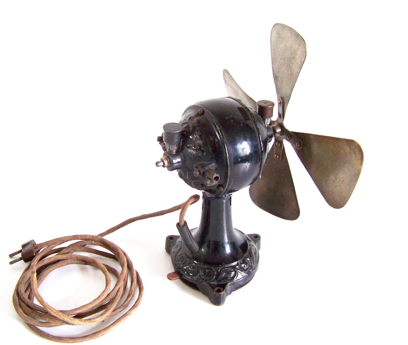 Antique Desk Fan, 1910s - Antique Desk Fan, 1910s For Sale At Pamono