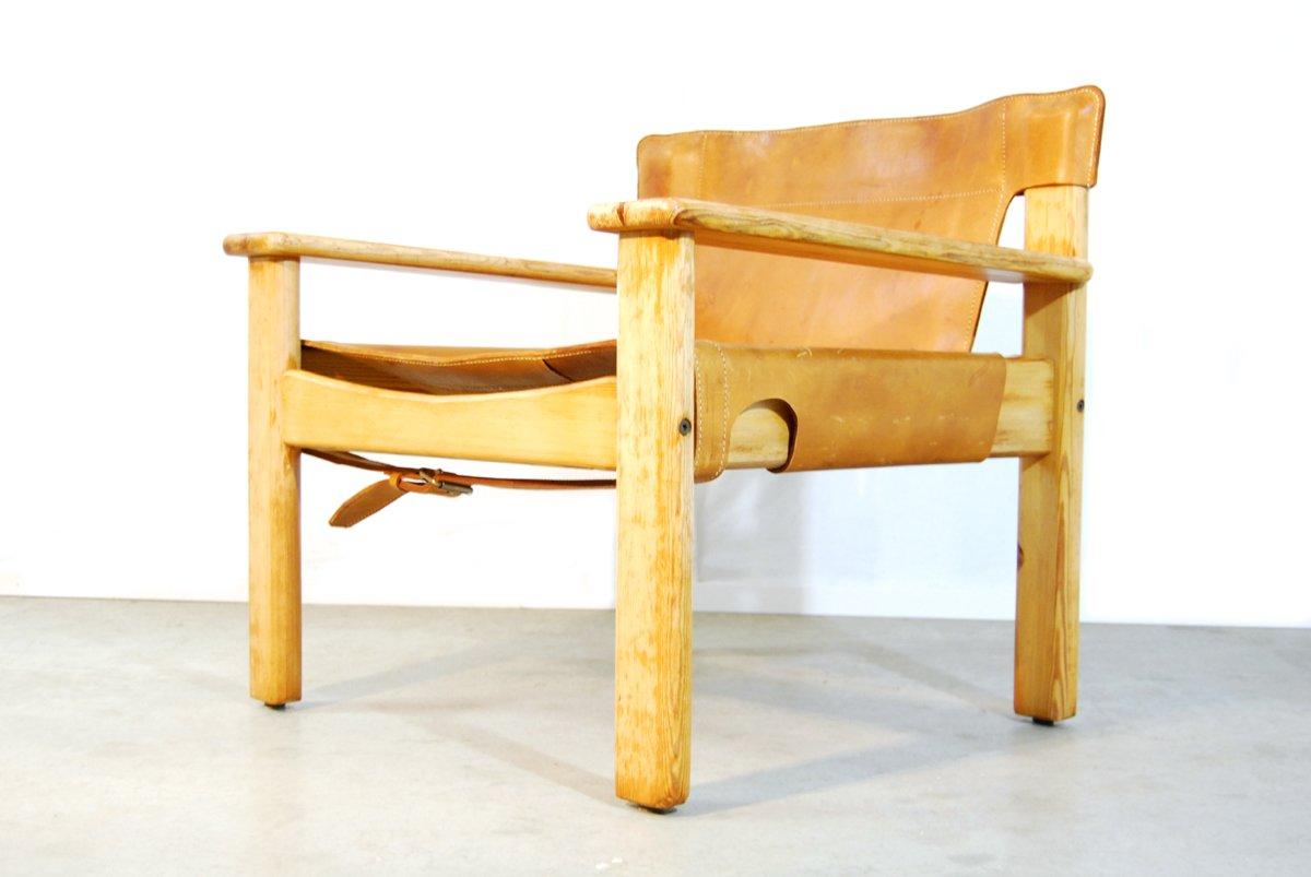schwedischer geschirrleder natura sessel von karin mobring f r ikea 1970er bei pamono kaufen. Black Bedroom Furniture Sets. Home Design Ideas