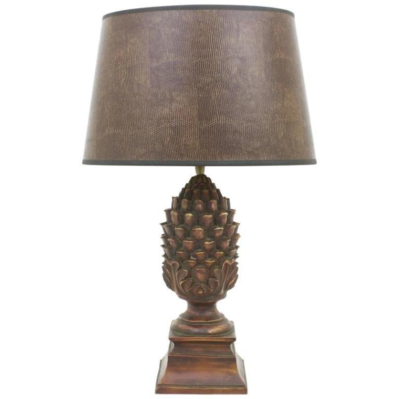 Vintage pineapple table lamp for sale at pamono vintage pineapple table lamp aloadofball Choice Image