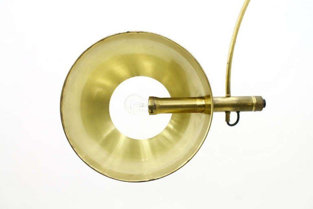 Wall Mounted Arc Lights : Wall-Mounted Adjustable Arc Lamp by Florian Schulz for sale at Pamono