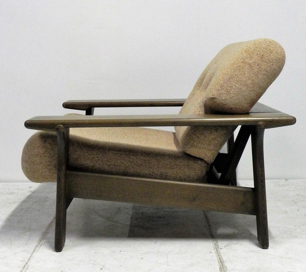 Danish large armchair 1970s for sale at pamono for Large armchair