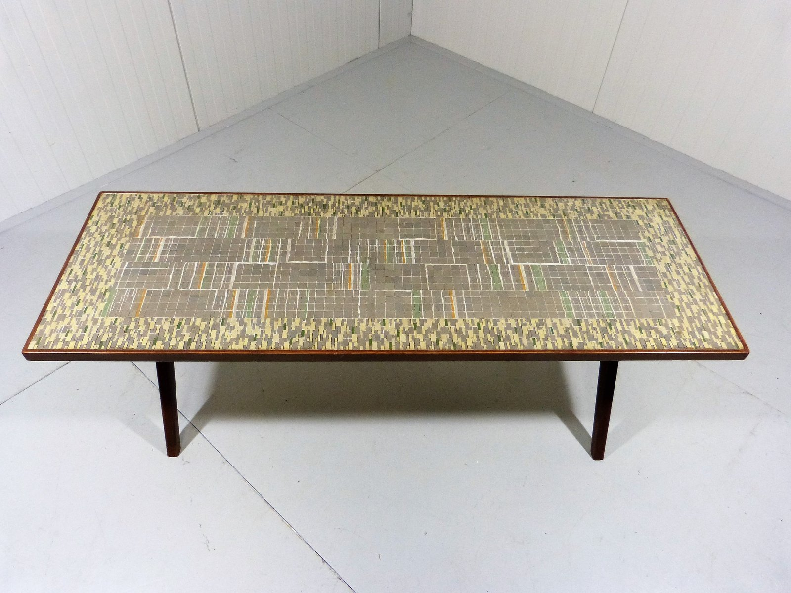 Mosaic Coffee Table By Berthold Müller Oerlinghausen, 1950s