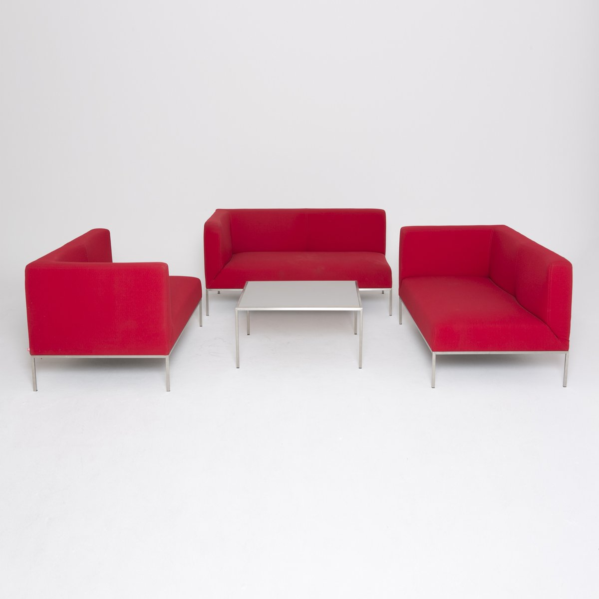 Red Sofa By Marco Maran For Parri 1990s For Sale At Pamono