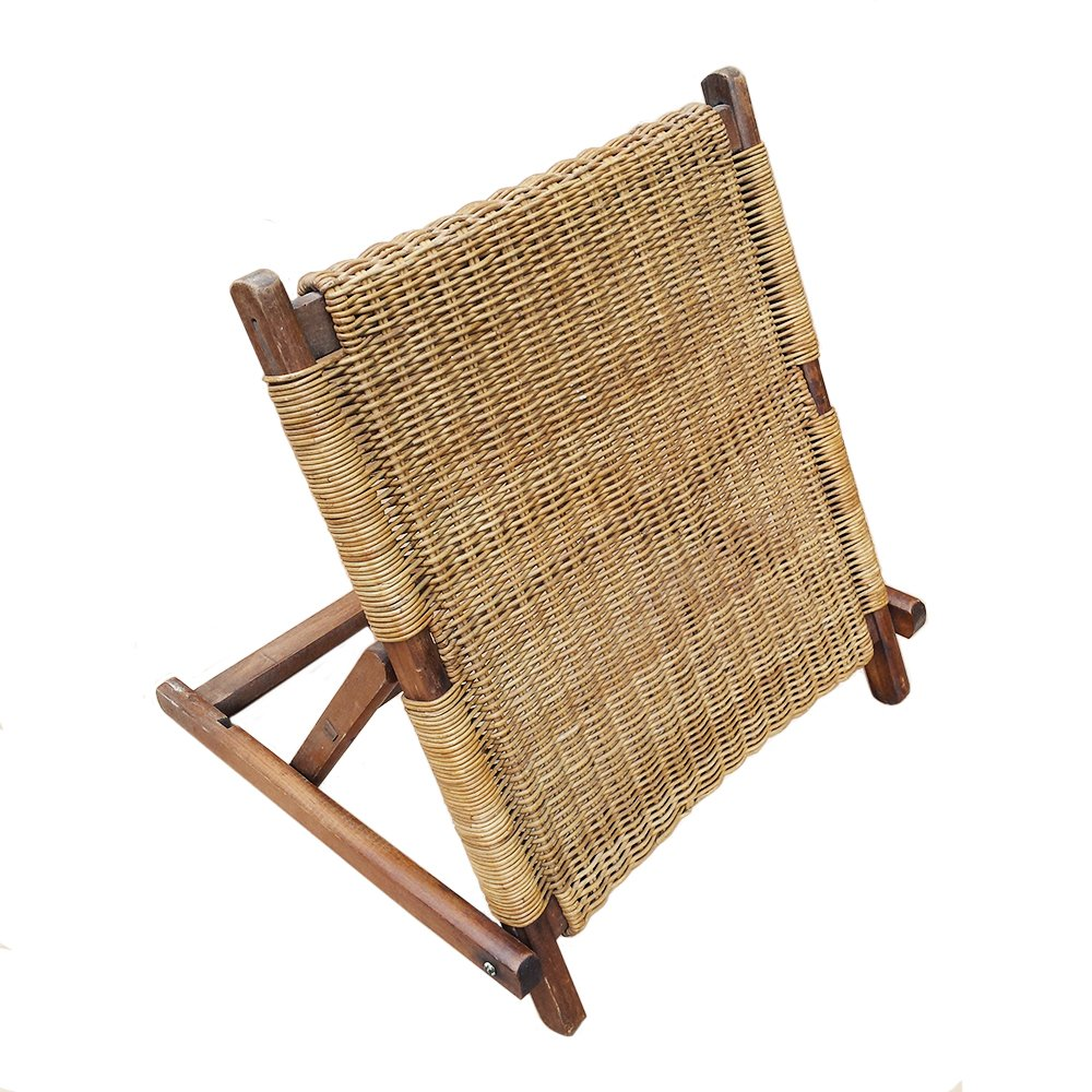 beach folding chair back rest 1900s for sale at pamono. Black Bedroom Furniture Sets. Home Design Ideas