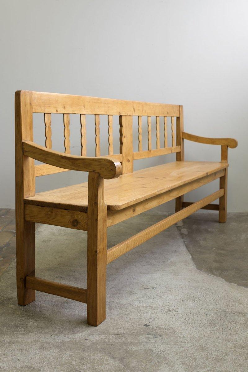 Antique kitchen garden bench 1900s for sale at pamono - Kitchen bench for sale ...